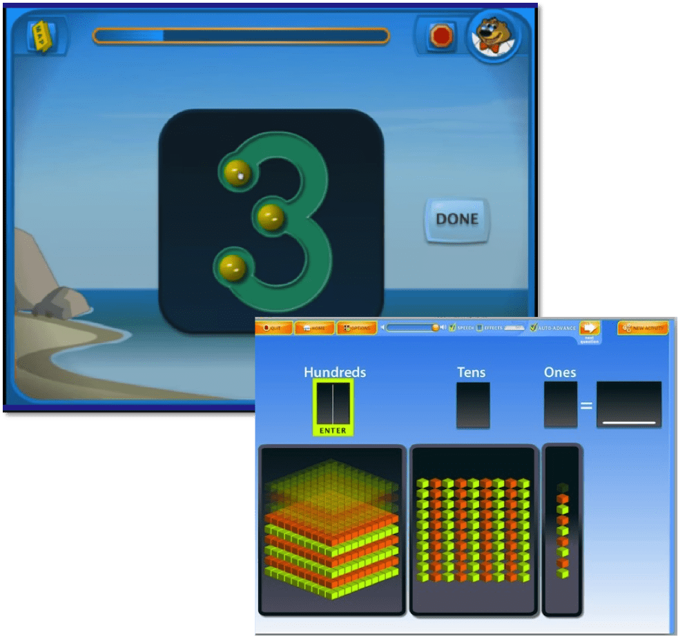 Math Tablet App for Early Childhood