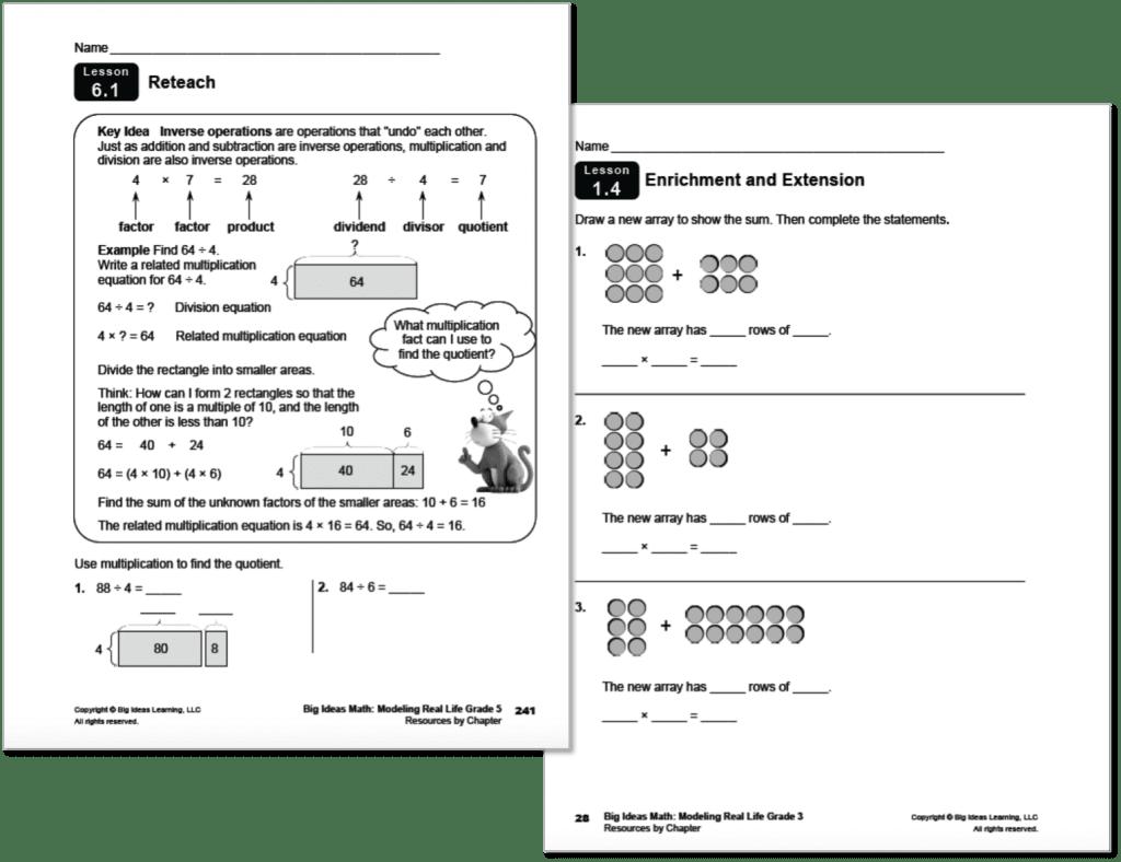 Math Ancillary Program