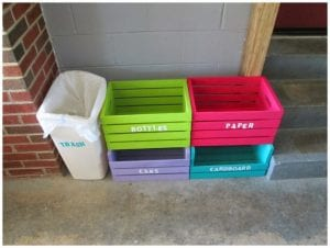 make your own home recycle center