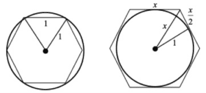 cirlces and hexigons