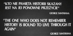 Plaque outside Auschwitz concentration camp, Aloriel