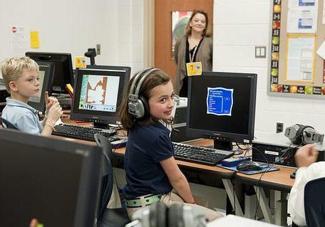 children classroom landscape